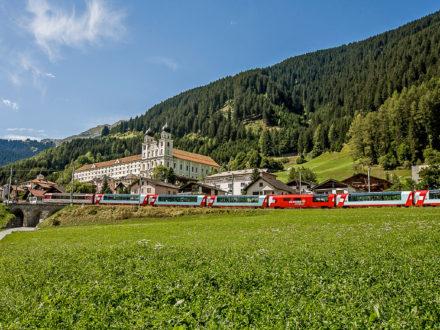 Alpen: Urlaub ohne Auto